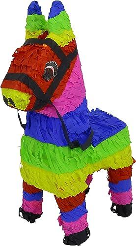 el más barato 3 Pack Mini Colorful Donkey Donkey Donkey Pinata - Mexican Piñata - Handmade in Mexico  servicio de primera clase