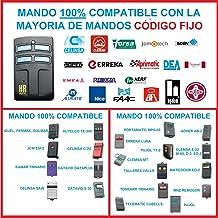 Amazon.es: mando garaje con codigo manual