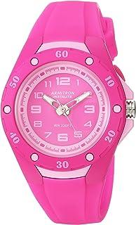 Armitron Sport Women's 25/6428MAG Light Pink Accented Magenta Silicone Strap Watch