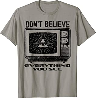 Shane Dawson Vintage Don`t Believe Everything You See Shirt