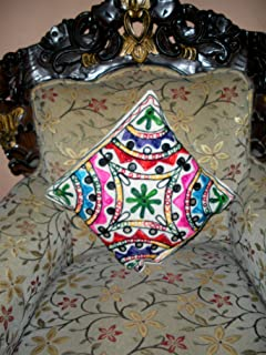 kutch work cushion covers