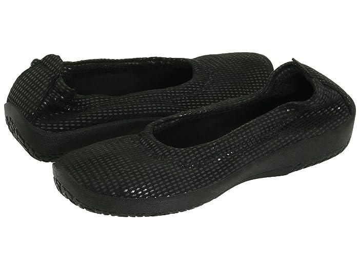 Arcopedico  L15D (Lagrimas Black) Womens Flat Shoes