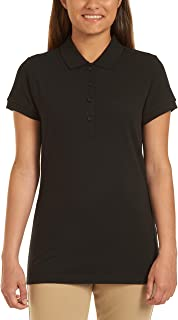 Nautica Women's Uniform Short Sleeve Pique Polo