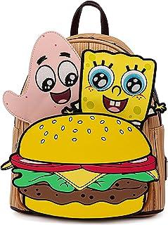 Loungefly Spongebob Squarepants Krabby Patty Group Womens Double Strap Shoulder Bag Purse