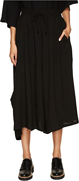 Y's by Yohji Yamamoto - O-R PK Gather Wide Leg Pants