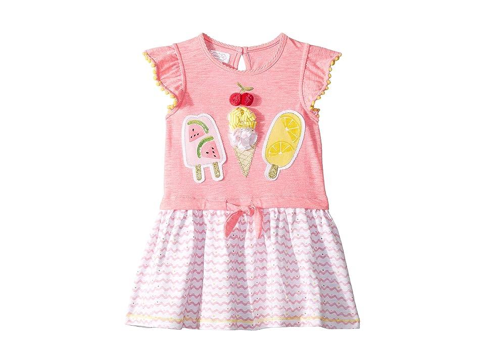 Mud Pie Fun in The Sun Dress (Toddler) (Pink) Girl