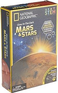 National Geographic NGMARSSTAR2 Glow in the Dark Mars and Stars