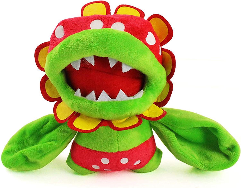 Moovi Super Price reduction Mario Bros. Petey Piranha 6.6'' Stuffe OFFicial mail order Plush Figures