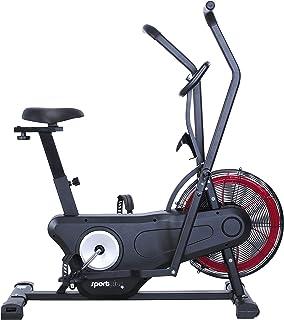SportPlus Neuerscheinung 2020 Air Bike Indoor Heimtrainer Fahrrad Ergometer für Fitness, Spinning & Crossfit | Crosstraine...
