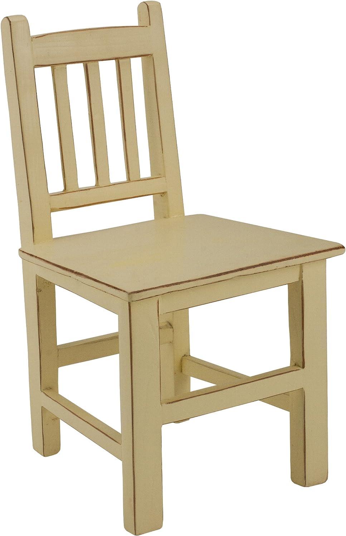 Antique Revival Ch006C But Decorative Accent Seat, Butter