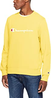 Champion Men's Champion Script Crew Pullover Sweat