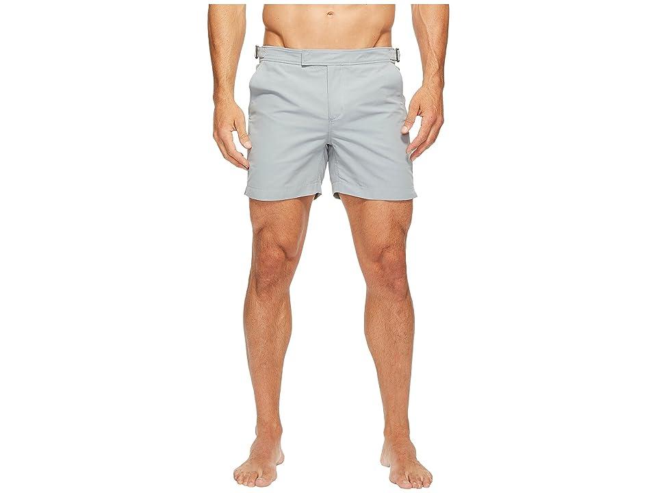 Exley NB 5 Inch Bristol Swim Shorts (Grey) Men's Swimwear