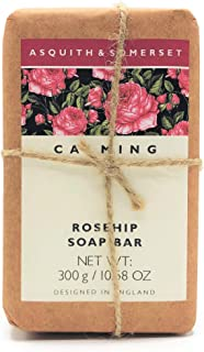 Asquith & Somerset Calming Rosehip Soap Bar 10.58 Oz