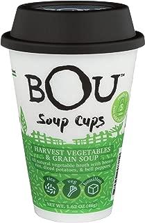 Bou, Soup Cup Harvest Vegetables Grains, 1.62 Ounce