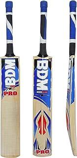 BDM Pro Multi - Piece Cane Handle Kashmir Willow Wood Cricket Bat Carry Case Adult Size - Choose Weight