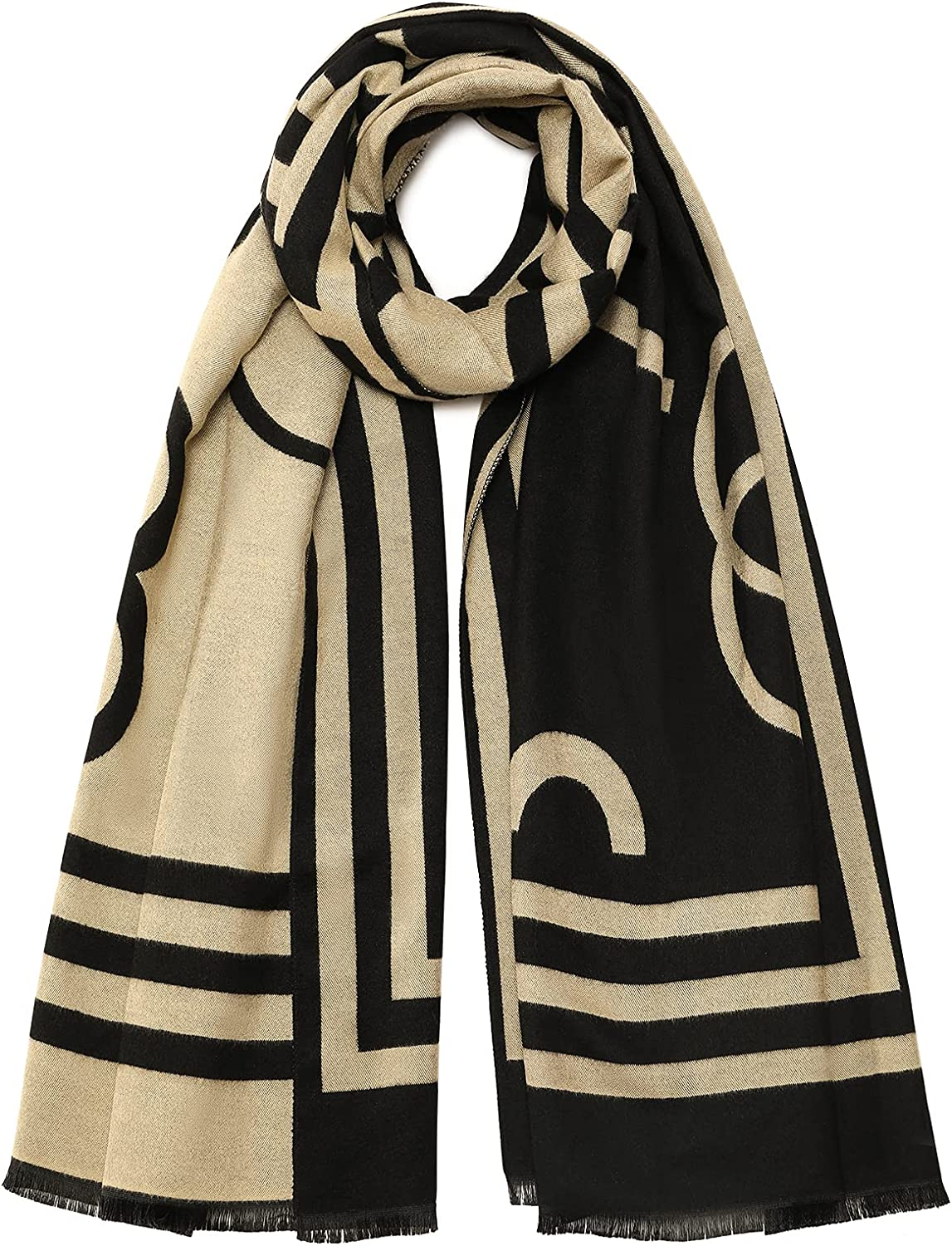 Warm Cashmere Feel Scarf for 5 popular Women and Wra Shawl Winter Pashmina High order