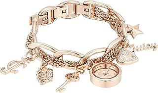 Women's Swarovski Crystal Accented Charm Bracelet Watch