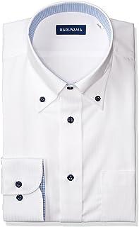 [ハルヤマ] 形態安定 アーバンモデル 長袖 ボタンダウンワイシャツ M151180104 メンズ
