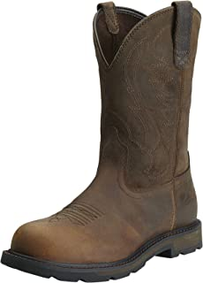Men's Groundbreaker Pull-on Steel Toe Work Boot