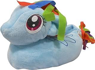 My Little Pony Girls 3D Slip On Slippers UK 4-5 (EUR 21-22) Blue