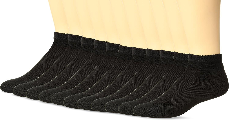 Hanes Ultimate Men's 11-Pack FreshIQ Low-Cut Socks (1 Free Bonus Pair)