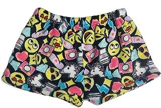 fuzzy pajama shorts
