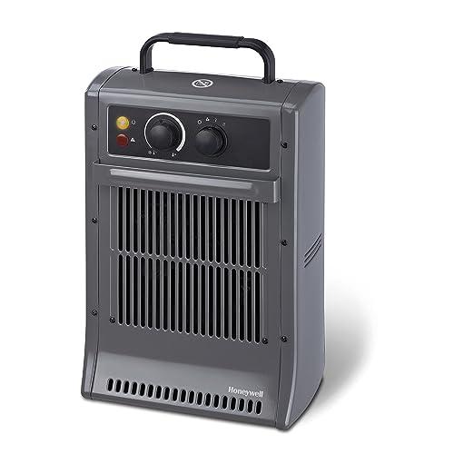 Honeywell CZ2104EV2 cz2104ev1 radiateur soufflant Puissant, Noir