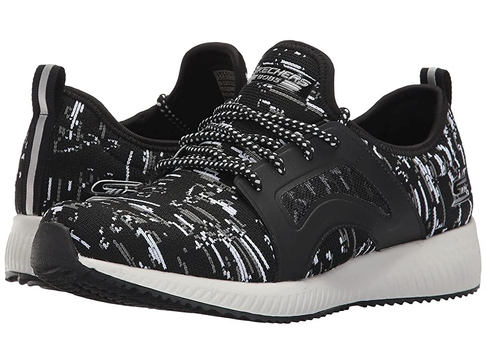 BOBS from SKECHERS Bobs Squad Double (Black/White) Women
