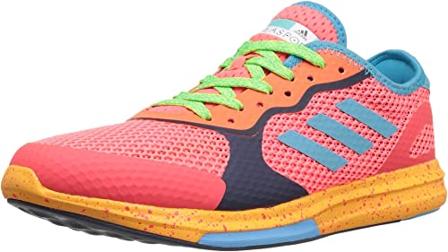 Adidas Wohommes Yvori Runner Cross-Trainer chaussures, Pop Intense bleu Radiant or, (8 M US)
