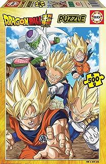 Educa Personajes Z Personnages Dragon Ball. Puzzle 500 pièces. Ref. 18216, Varié