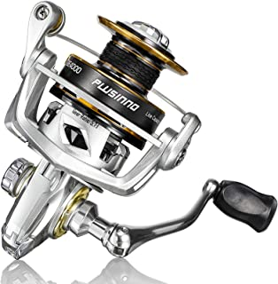PLUSINNO Fishing Reel, 5.7:1 High Speed Spinning Reel,9 +1BB, Premium Drag System with17-22 LB...