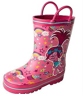 أحذية ترولز للمطر للبنات من شخصيات مفضلة TLS503 (طفل رضيع/طفل صغير)