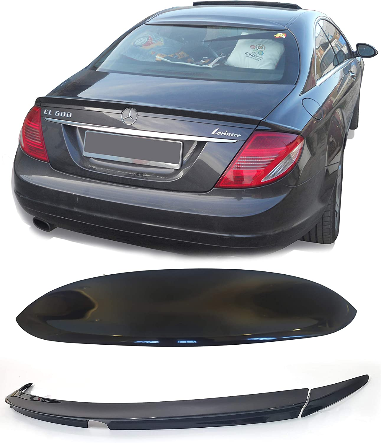 Lasscar Limited Special Price Trunk OFFicial mail order Spoiler Wing Roof for Window Mercedes-Benz