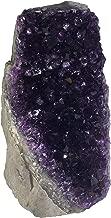 Superior Best Amethyst Cluster (1.5 to 2.0 lbs) Deep Purple Amethyst Plus Includes Bonus Mineral.