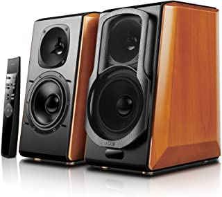 Edifier S2000pro Powered Bluetooth Bookshelf Speakers - Near-Field Active Studio Monitor Speaker with Wireless and Optical...