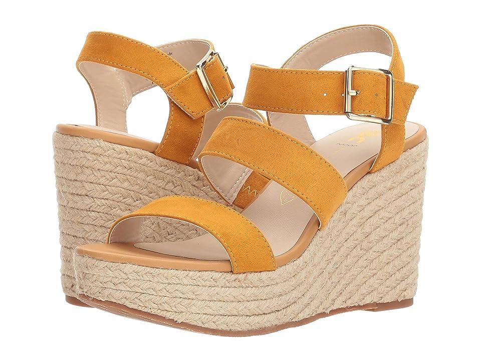 Seychelles BC Footwear by Seychelles Snack Bar (Mustard Suede) Women