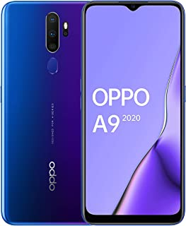 OPPO A9 2020 Snapdragon 665 6.5 inch 5000mAh Dual Sim 48MP Ultra Wide Quad Camera Smartphone, Space Purple