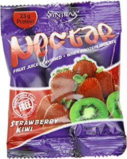 Nectar Grab N' Go, Strawberry Kiwi, 12 packets, 27 grams per packet