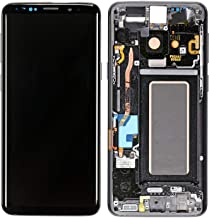 GG MALL AMOLED LCD Display Touch Screen Digitizer Assembly Replacement + Frame for Samsung Galaxy S9 5.8