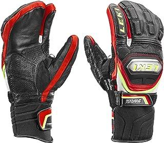 LEKI World Cup Racing Ti S Lobster Mitten Black/Red/White/Yellow