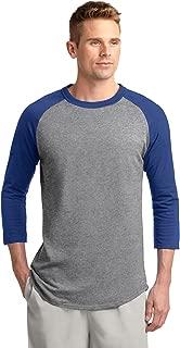 Men's 3/4 Raglan Sleeves Colorblock Jersey
