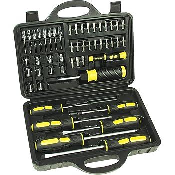 KS Tools 911.2080 1//4 cm, 99 piezas Juego de puntas para destornillador