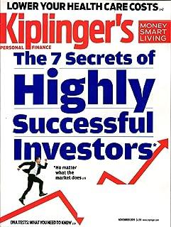 Kiplinger's Personal Finance Magazine November 2019   Secrets of Highly Successful Investors