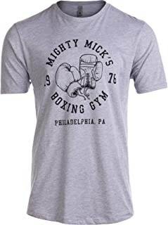 Tall Tee Mighty Mick's Boxing Gym 1976 | Philadelphia Boxer Style Gloves T-Shirt
