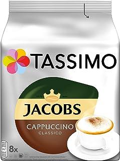 Tassimo Kapseln Jacobs Cappuccino Classico, 40 Kaffeekapseln, 5er Pack, 5 x 8 Getränke