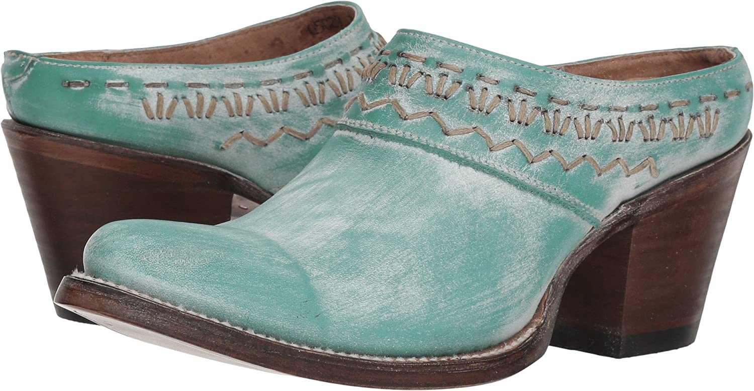 Corral Boots Women's Q5029 Turquoise Woven Mule