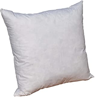 Pillowflex 95% Feather 5% Down Pillow Form Insert Stuffers Throw sham Covers Cushions (22 Inch 22 Inch)
