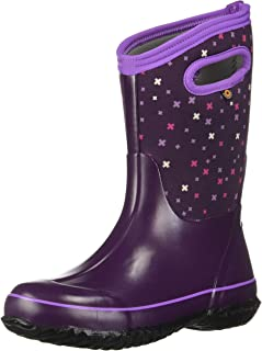 Kids Classic High Waterproof Insulated Rubber Rain and Winter Snow Boot for Boys, Girls..