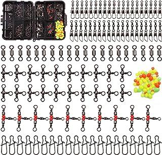 Kit de Broches Giratorios de Pesca con Rodamiento de Bolas