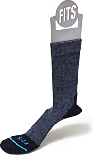 FITS Light Hiker - Crew Socks, Navy, XXL